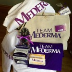 Team spirit swag from Mederma.