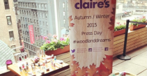 Claire's #WoodLandDreams Press Party